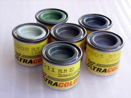 Xtracolor Luftwaffe camouflage color set