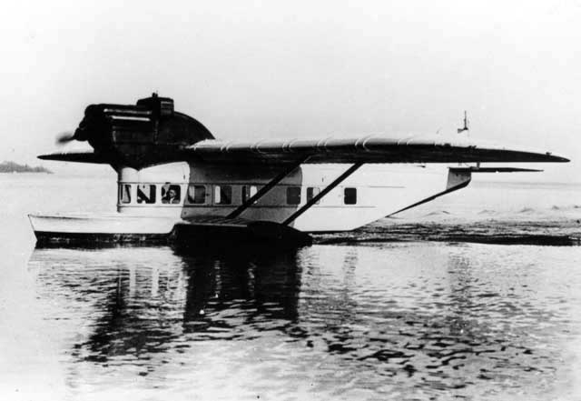 The Delphin III was the final version of this series of attractive looking flying boats.
