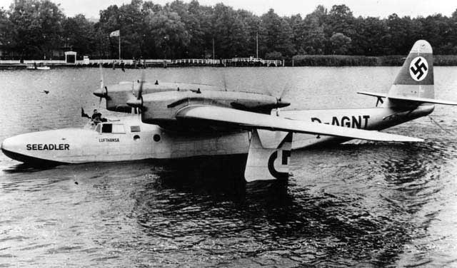A Dornier works picture of the Do-26V1 Seeadler