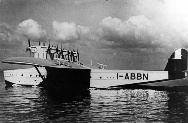 A picture of the lesser known Italian Do-X3 I-ABBN
