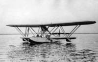 The Fokker B.3 flying boat in its original configuration.