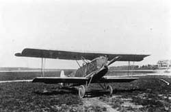 One of the three interned D-VII\'s used by the LVA in typical early Dutch markings