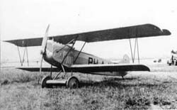 The civil registered D-VII PH-AJW. Originally used b y Fokker, it was later donated to Willem Versteegh
