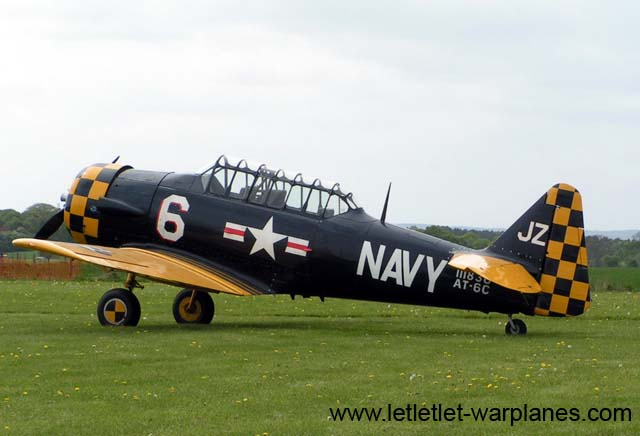 North American AT-6C Harvard IIA s/n 111836