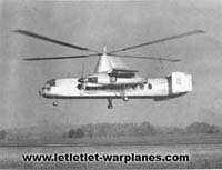 The Rotodyne on its first hover flight at White Waltham airfield