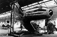 The S-14 under construction