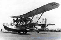 One of the Breguet Bizerte flying boats in German markings at Brest (Collection Franz Selinger, Ulm)