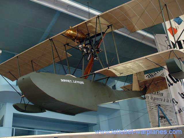 The Donnet-Lévéque flying boat as presently exhibited in the Musée de l\'Air at Le Bourget, France