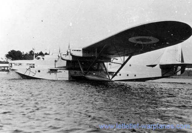 The Latécoère 523 was the militarised version of the civil Laté 522