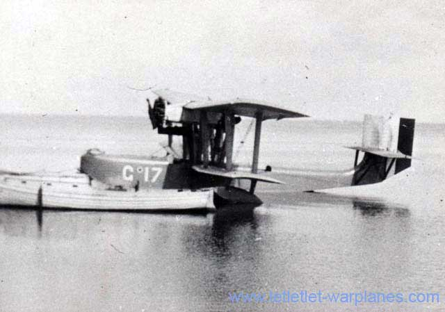 Rare picture of the Latham 45 at Rotterdam harbour en route to an air-show near Copenhagen in Denmark in 1927