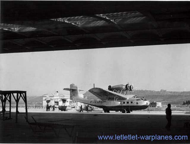 LeO H-242 c/n 6 F-ANPC 'Ville de Marseille' at Marignanne airport, Marseilles