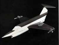 Photo showing a model of the SR.177 (Saunders Roe photo)