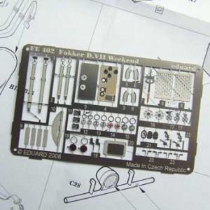 Fokker D.VII detail set package