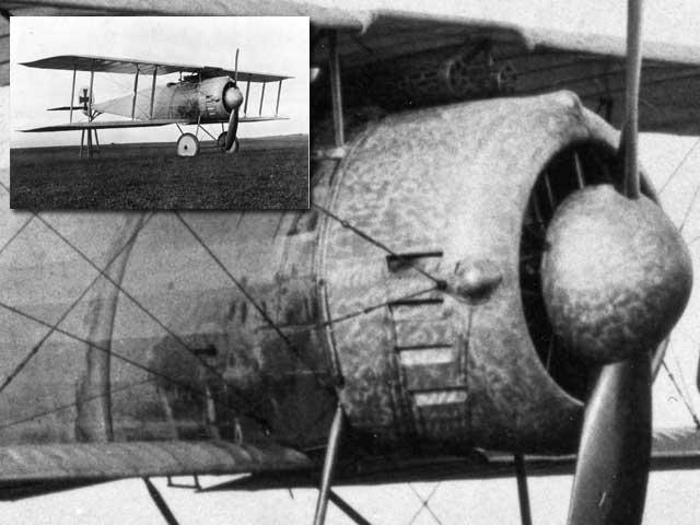 Late WW1 Fokker prototype details