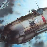 Eduard Bf109E art box