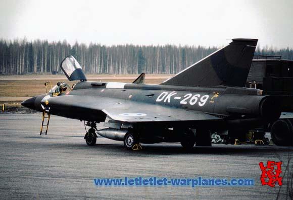 SAAB DRAKEN DK-269 FINAF