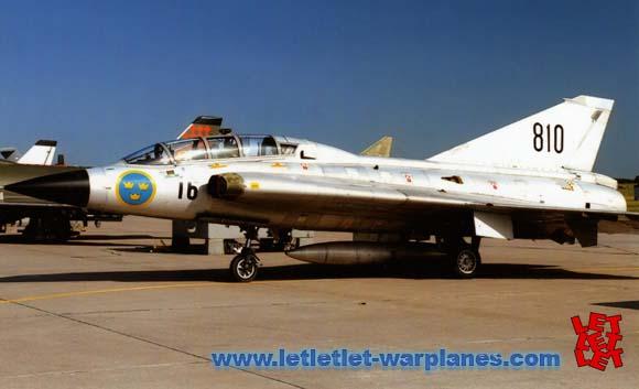 SAAB DRAKEN SWED AF 810