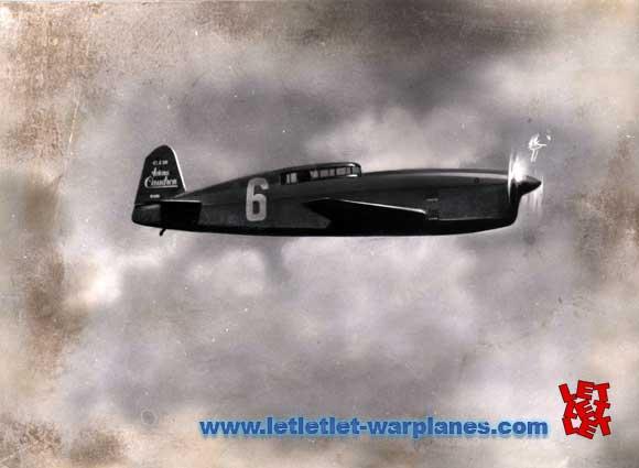 ¿Qué avión es este? Caudron-C.460-racer