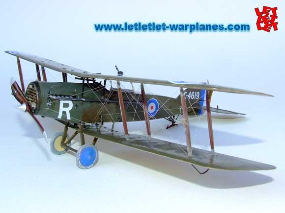 Bristol Fighter scale model