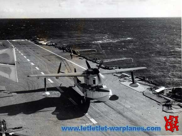 Deck landing trial of PA 143 on board of the aircraft carrier HMS Illustrious.