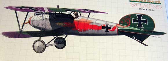 Albatros D.V kit from Eduard