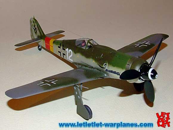 Focke Wulf Fw190D by Eduard