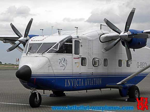 Short Skyvan sn G-BEOL