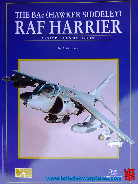 Harrier MDF book