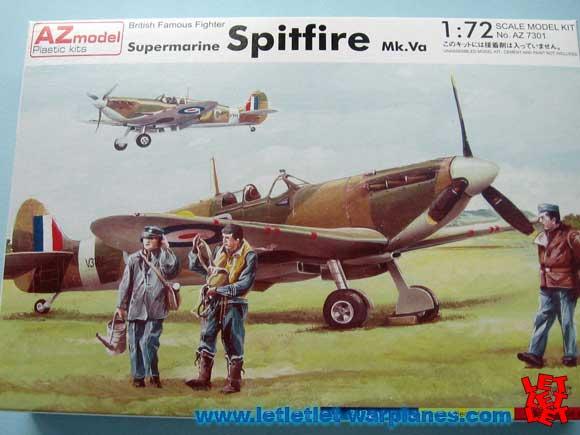 AZ Model 7301 Spitfire mk Va 1/72
