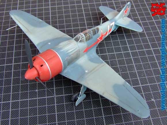La-7 Eduard kit 8098