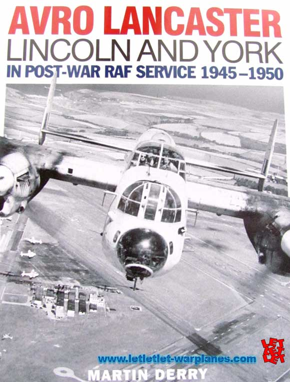 Avro Lancaster, Lincoln and York in post-war RAF service 1945-1950