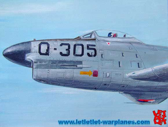 Classic Sabre painting