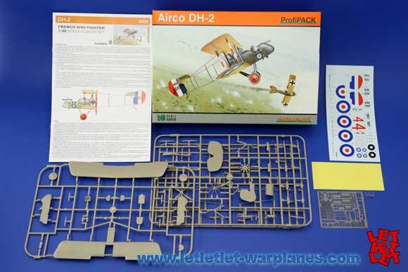 Eduard 1/48 Airco DH-2 Profipack ref 8094