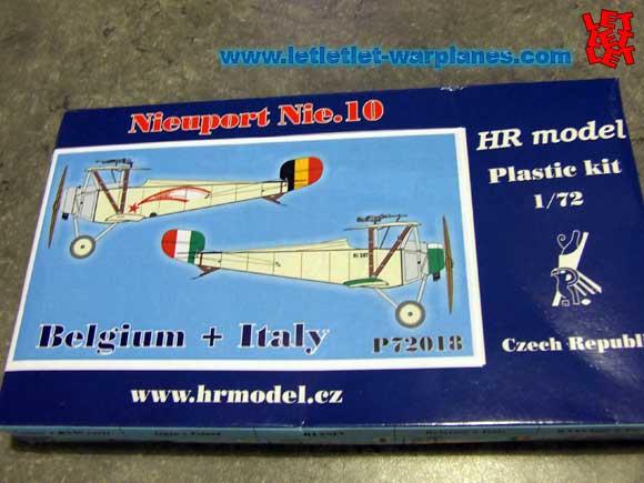 HR Models 1/72 scale Nieuport 10