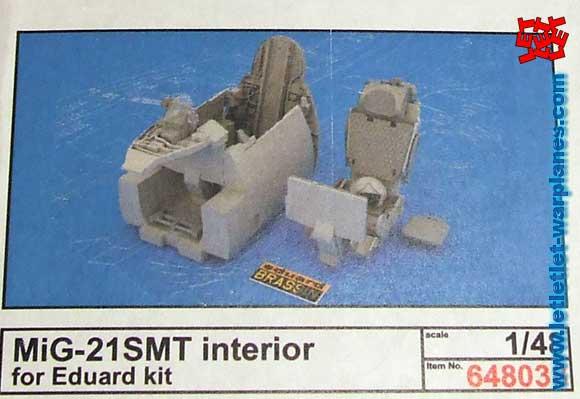 MiG-21SMT Interior