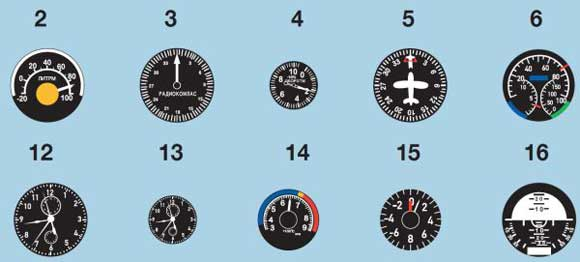 Instrument Dial Decals – Early Soviet Jets