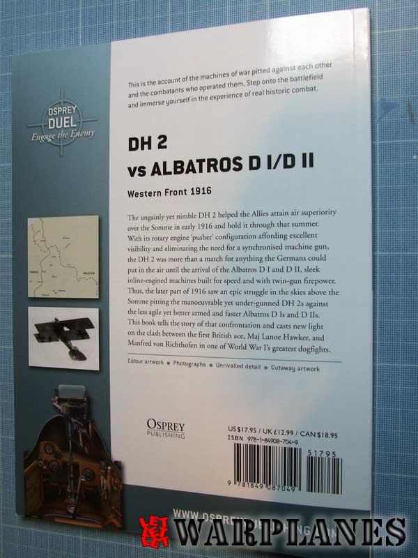 DH2 vs Albatros DI/DII
