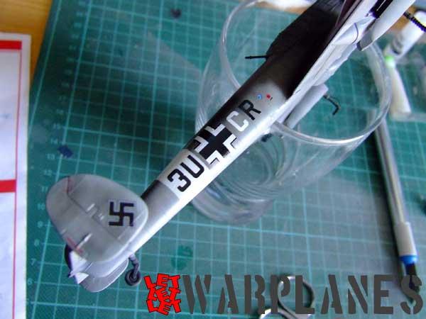 Eduard Bf 110 decals