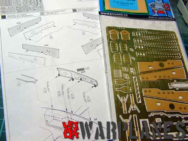 Lockheed Lightning upgrade set