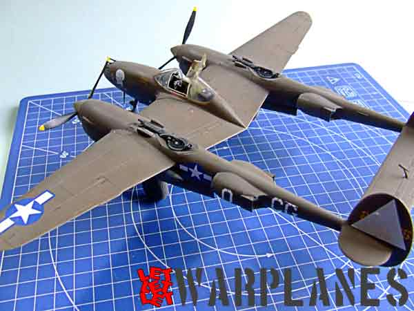 Lockheed P-38 Lightning completed kit