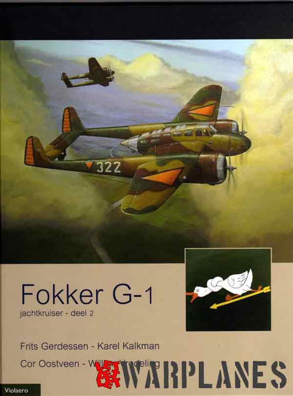 Fokker G-1 jachtkruiser - Deel 2