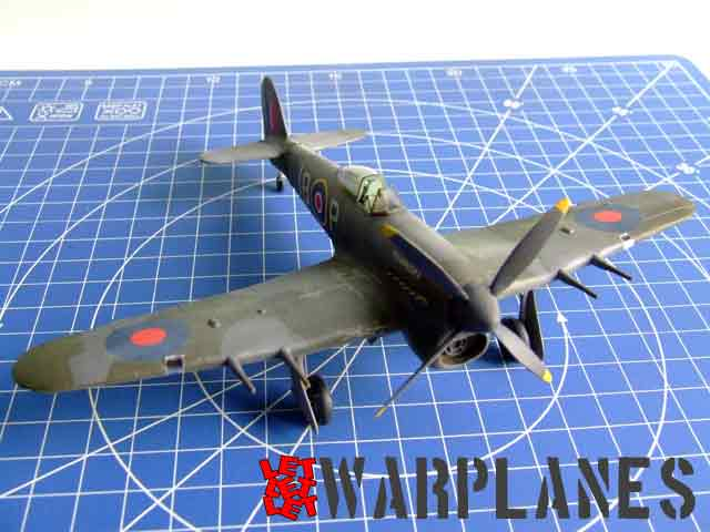 Hawker Typhoon completed kit