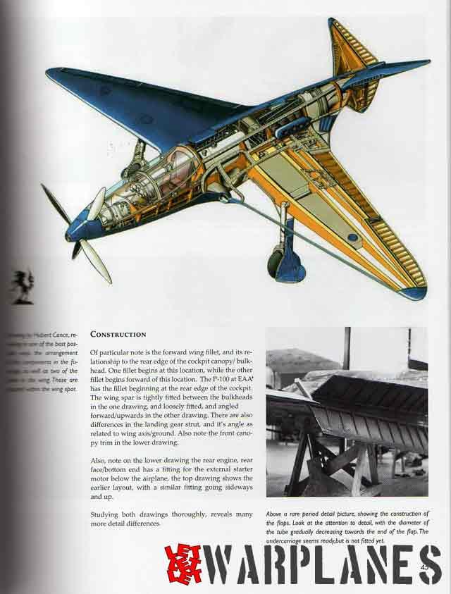 The Bugatti 100P record plane
