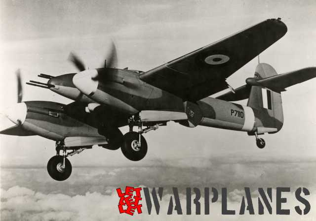 A production Whirlwind -P7110- with everything 'out and down'. It was not yet fitted with a squadron call sign. We clearly see the Fowler flaps extended with the extreme part of the engine nacelle attached. P7110 was the 100th production Whirlwind!