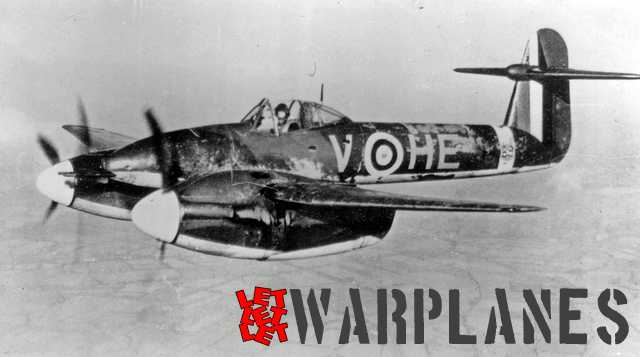 Whirlwind P6969 'HE + V' from No. 263 Sq. showing a heavily weathered camouflage scheme. Note the early style large-size fin flash that was mandatory for this period. (Photo: Ray Crupi collection).