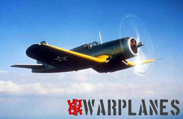 Vought XF4U-1 Corsair prototype in 1940