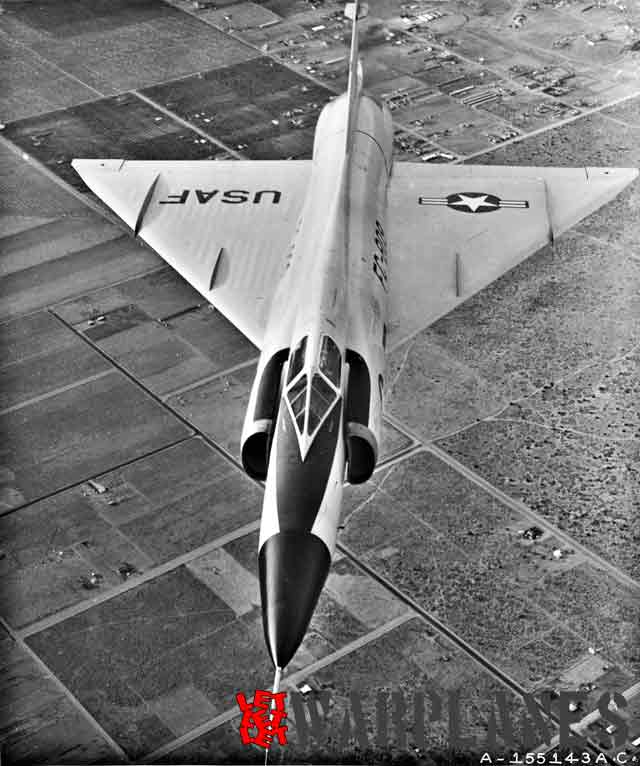Area rule is one of the greatest invention which helps aircrafts to pass into the supersonic world. Note on this image how the fuselage become narrow in the middle. This particular machine still does not have splitter plate on the air intakes.