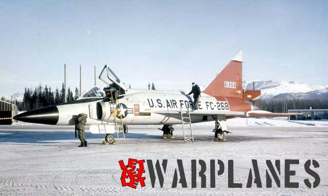 713 FIS at Alaska was the first unit to deploy F-102 in this area. It have some stencils details changed.
