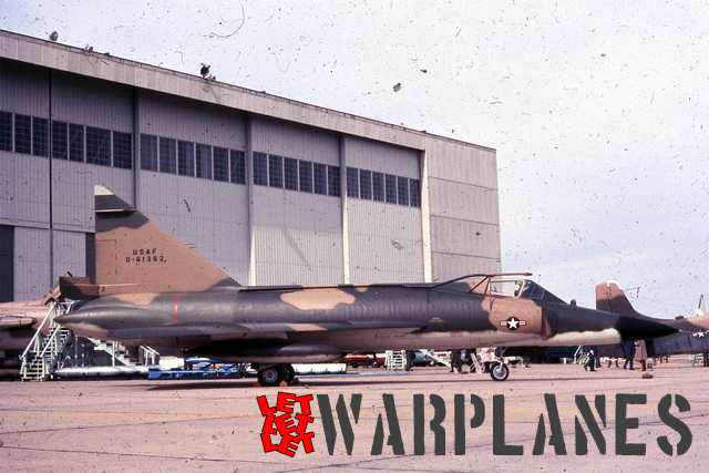Convair F-102A, 56-1362 equiped with in flight refueling probe. Limited number of machines received this equipment upgrade but as well this rapidly deteriorate flying performance, they were removed later.