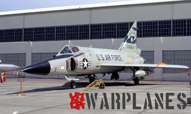 F-102A  56-1329  163 FIG, California ANG  Hamilton AFB,  April 1972. Last days of the active service of F-102 in USA, machine still have large style of national insignia as well ADC Grey scheme. On the nose is the infra red seeker.
